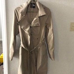 North Face Trench Coat